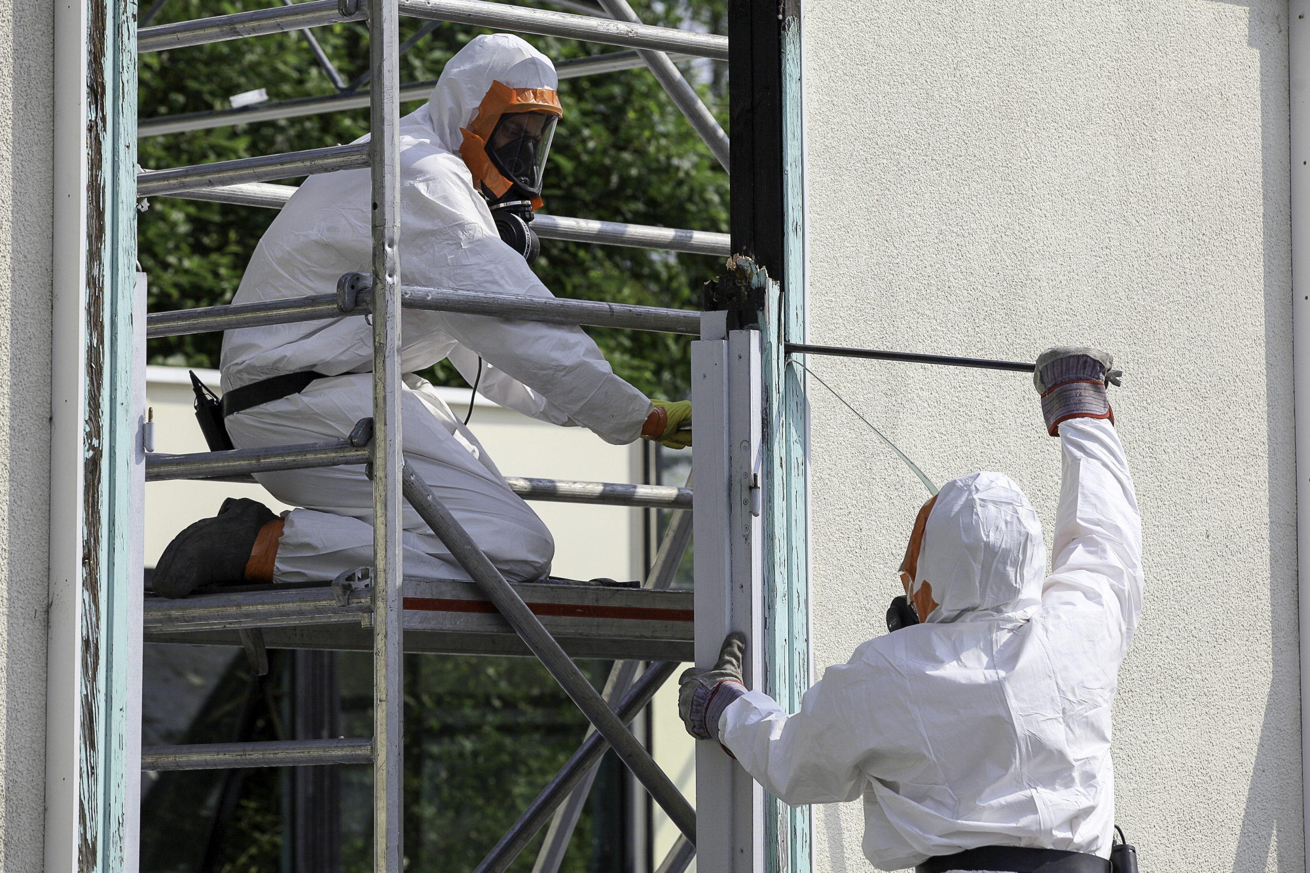 trabajadores amianto